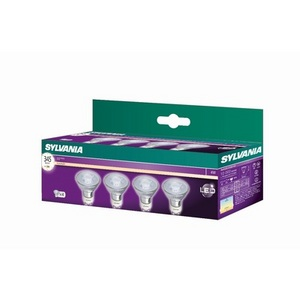 4 Pack Refled 4W GU10 Sylvania - 50W Equivalent