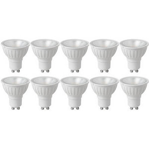10 Pack -  4W GU10 LED 4000K Cool White