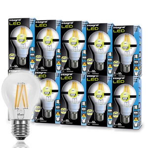 Stockists of 10 Pack 6.2W E27 Filament Glove - Dimmable