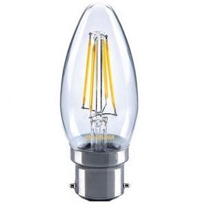 Lighting 4 Watt B22 Filament Candle LED 2700k (40w)