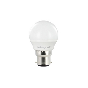 3.4 Watt B22 LED Golf Ball Bulb (25w)