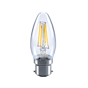 4 Watt B22 Filament LED Candle (40w)