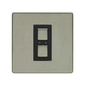 1 Gang Dimmer 250W- Stainless Steel