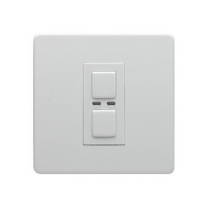 1 Gang Dimmer 250W- White
