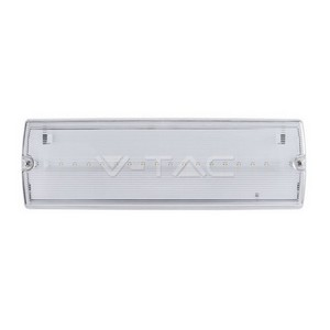16 LEDS Bulk Head Emergency Exit Light IP65 White light
