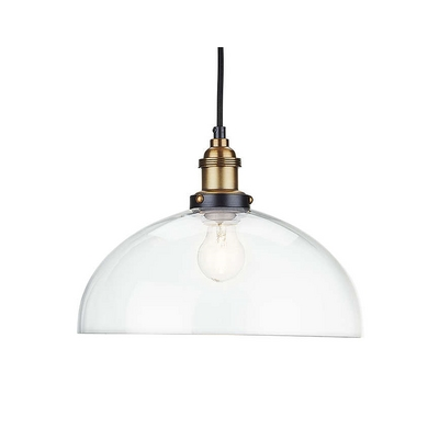 philips manor pendant light clear