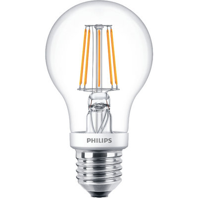 Philips 4.5W Warm White DimTone LED Decorative Filament GLS Bulb - E27 (40W)