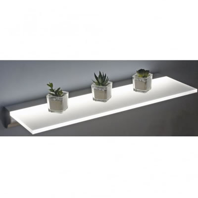 Sirius 600mm Floating Shelf IP44 10w