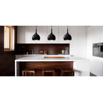 Parma COB Black Pendant Light 8W 4000k